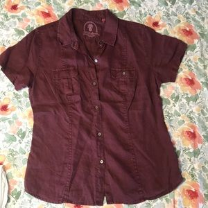New, Tommy Bahama Relax button up Linen too szM
